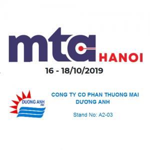 Công ty Dương Anh triển lãm thiết bị Ishan tại MTA 2019 Hà Nội