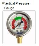 Đồng hồ áp suất chân đứng áp 15-35 bar ISHAN